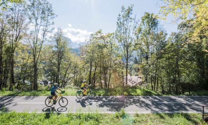 Alps Adria - Villach-Grado bike tour