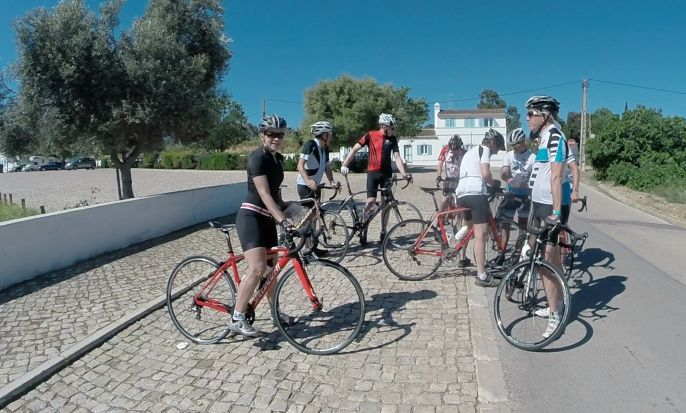 Road bike: Volta ao Algarve